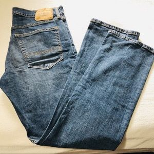 DENIZEN LEVI'S 218 STRAIGHT FIT BLUE JEANS